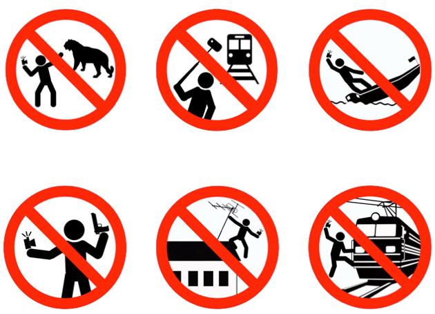 Russland: Selfies auf Kränen, mit Tiger/Knarre, etc. sind tödlich!
