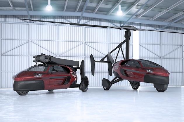 【ビデオ】飛行モードから走行モードへ10分以内に変形可能! 空飛ぶクルマの市販モデルが間もなく一般公開