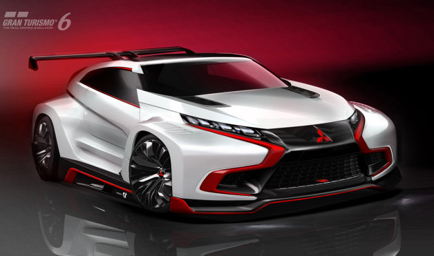 三菱が『グランツーリスモ』とコラボしたコンセプトカーを発表!