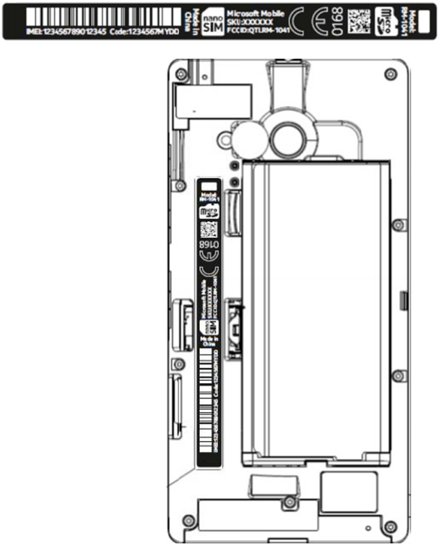 Lumia 735 at the FCC
