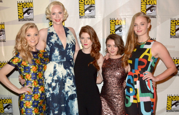 The women of Game of Thrones dominated Comic-Con