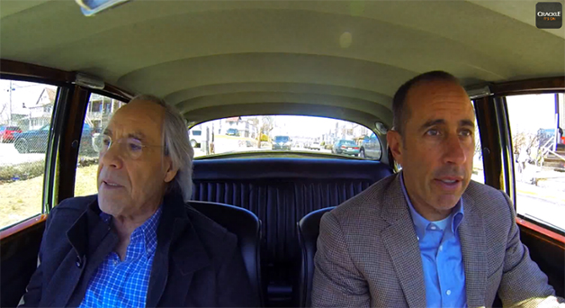 Trailer for the newest series of Jerry Seinfeld's Comedians in Cars Getting Coffee.
