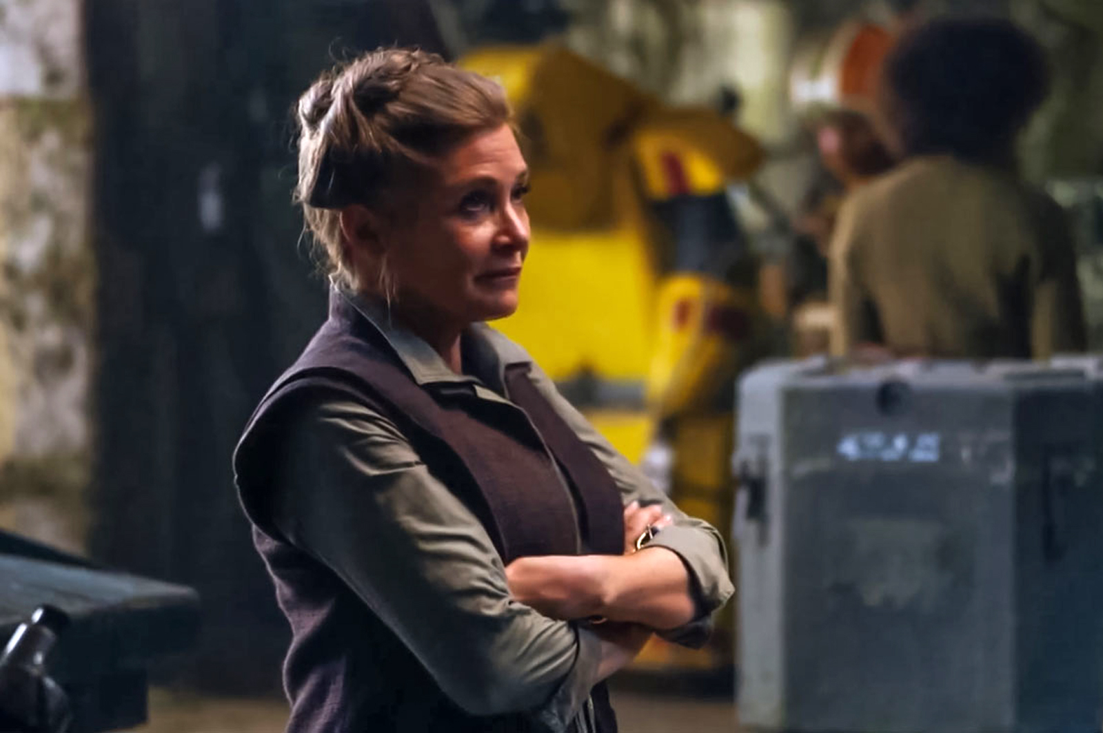 Carrie Fisher estará en 'Star Wars: Episodio IX' sin trucos digitales