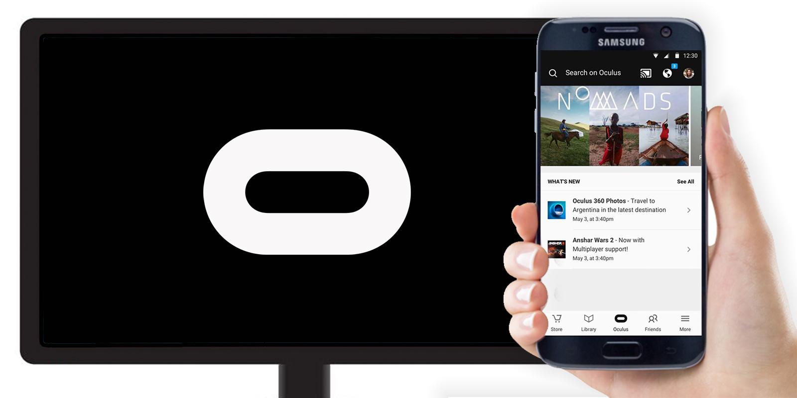 Gear VR: Freunde können jetzt über Chromecast zusehen Notiz