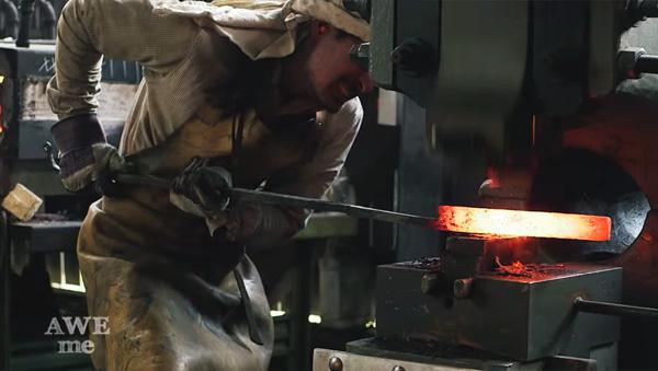 映画『キル・ビル』の千葉真一の日本刀を実際に作ってみた!【動画】