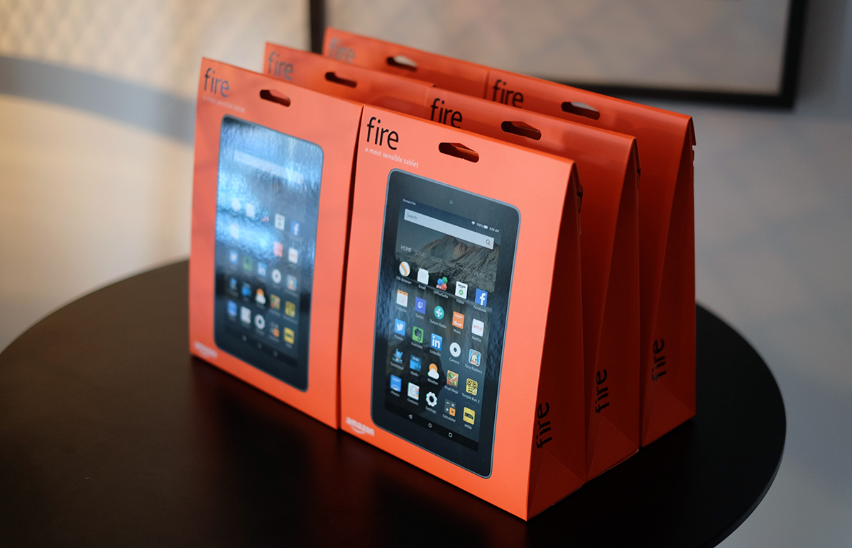 Amazon's selling its $50 Fire tablet in six packs