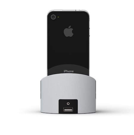 iphone dock back view