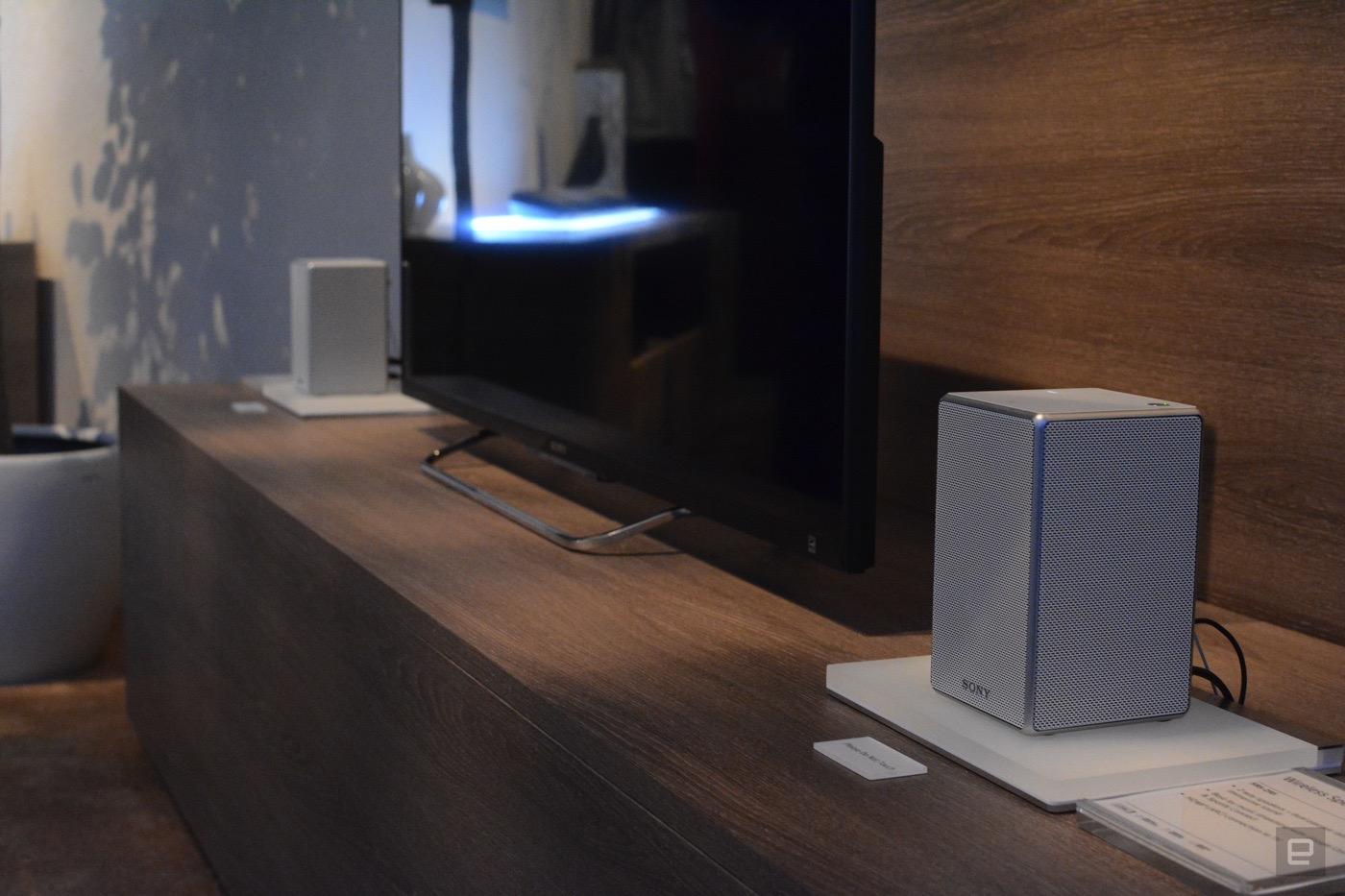 Sony's new multi-room audio gear includes better speaker options
