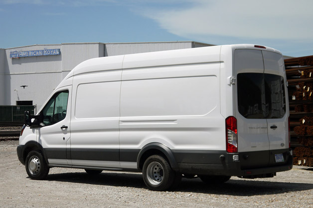 Image Result For Ford Transit Dual Cab