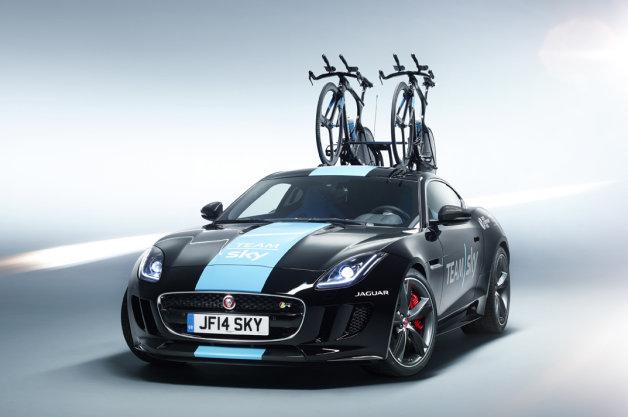 【ビデオ】ツール・ド・フランスのサポートカー仕様のジャガー「Fタイプ」が公開