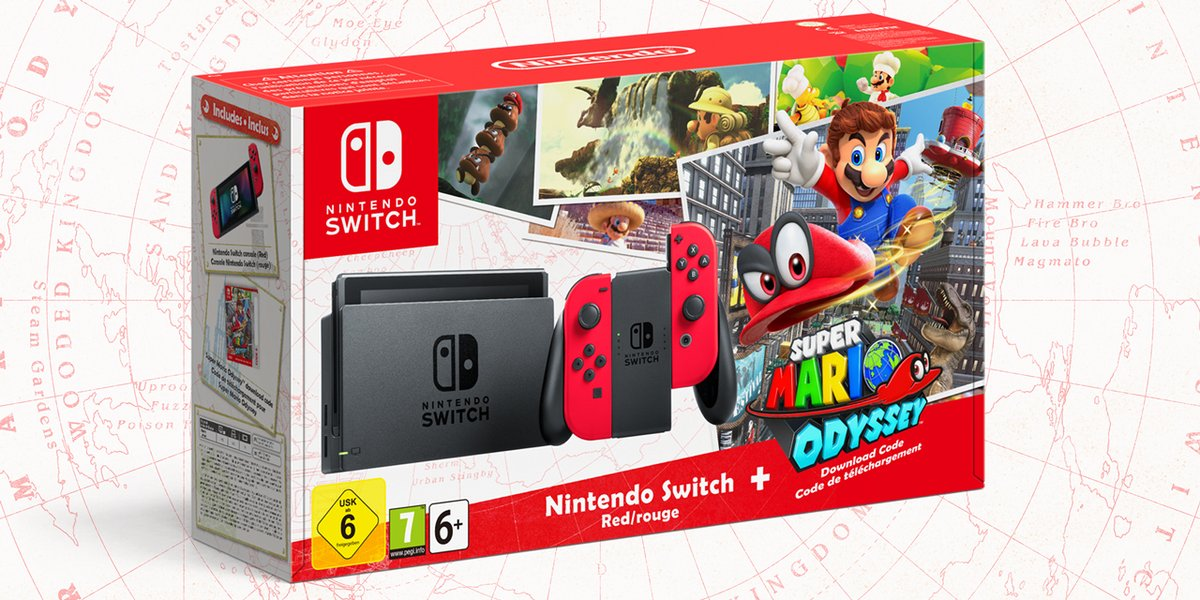 Super Mario Odyssey tendrá pack especial de Switch