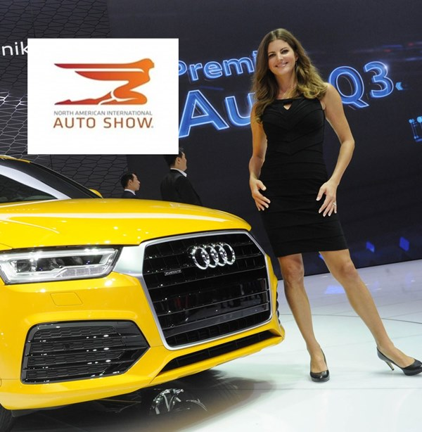 Detroit Motor Show: Girls & Hostessen