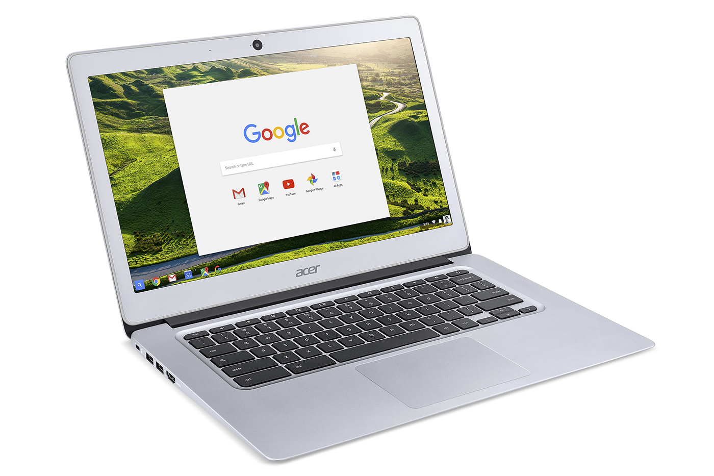 Acer's 14-inch Chromebook tries premium on a budget