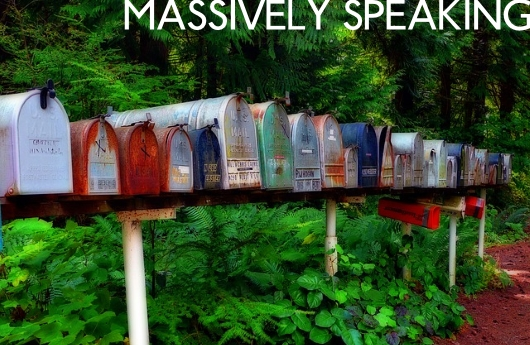 Massively Speaking Episode 326: Mailbag cleanup