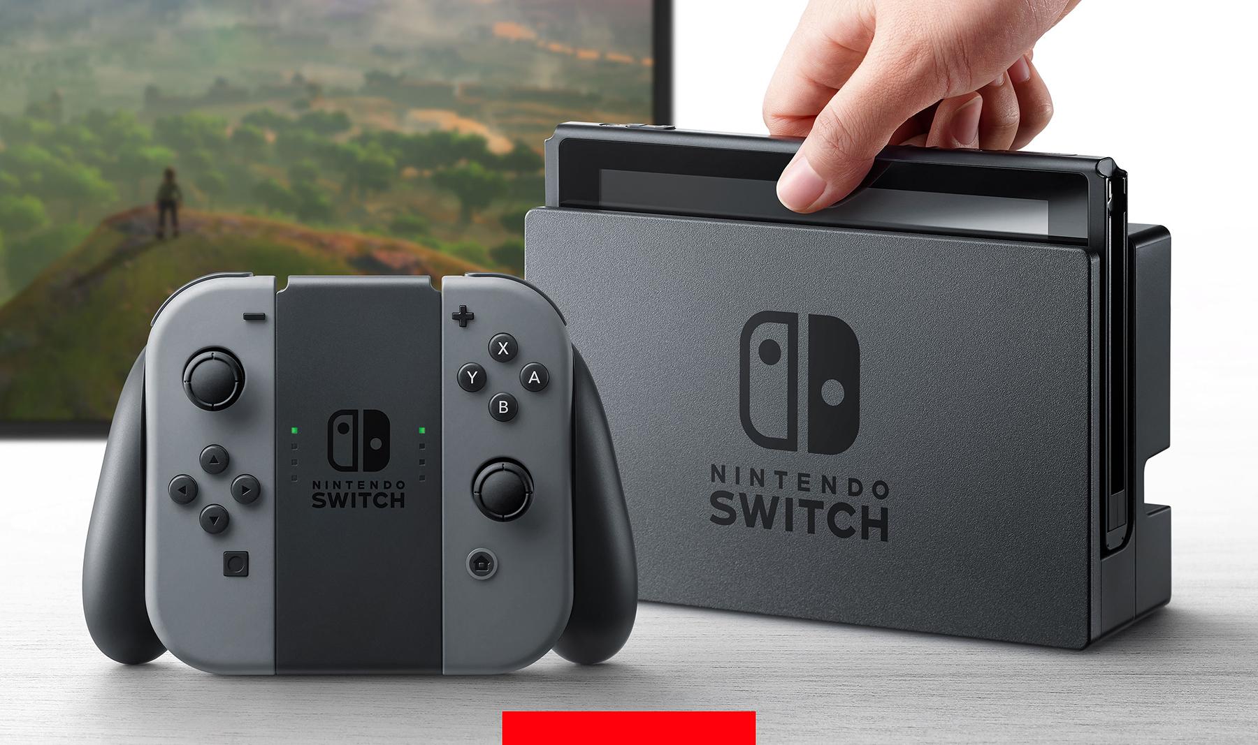 次世代任天堂游戏主机定名「Switch」