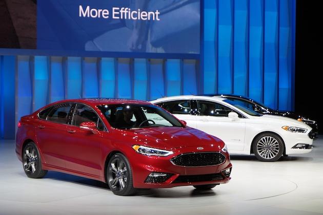 【北米国際自動車ショー2016】フォード、フェイスリフトした「フュージョン」にV6ツインターボを搭載