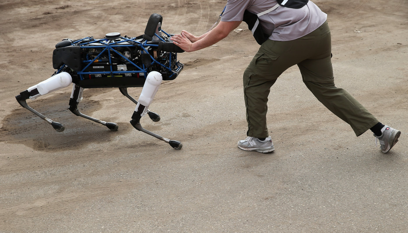 Alphabet está pensando vender Boston Dynamics