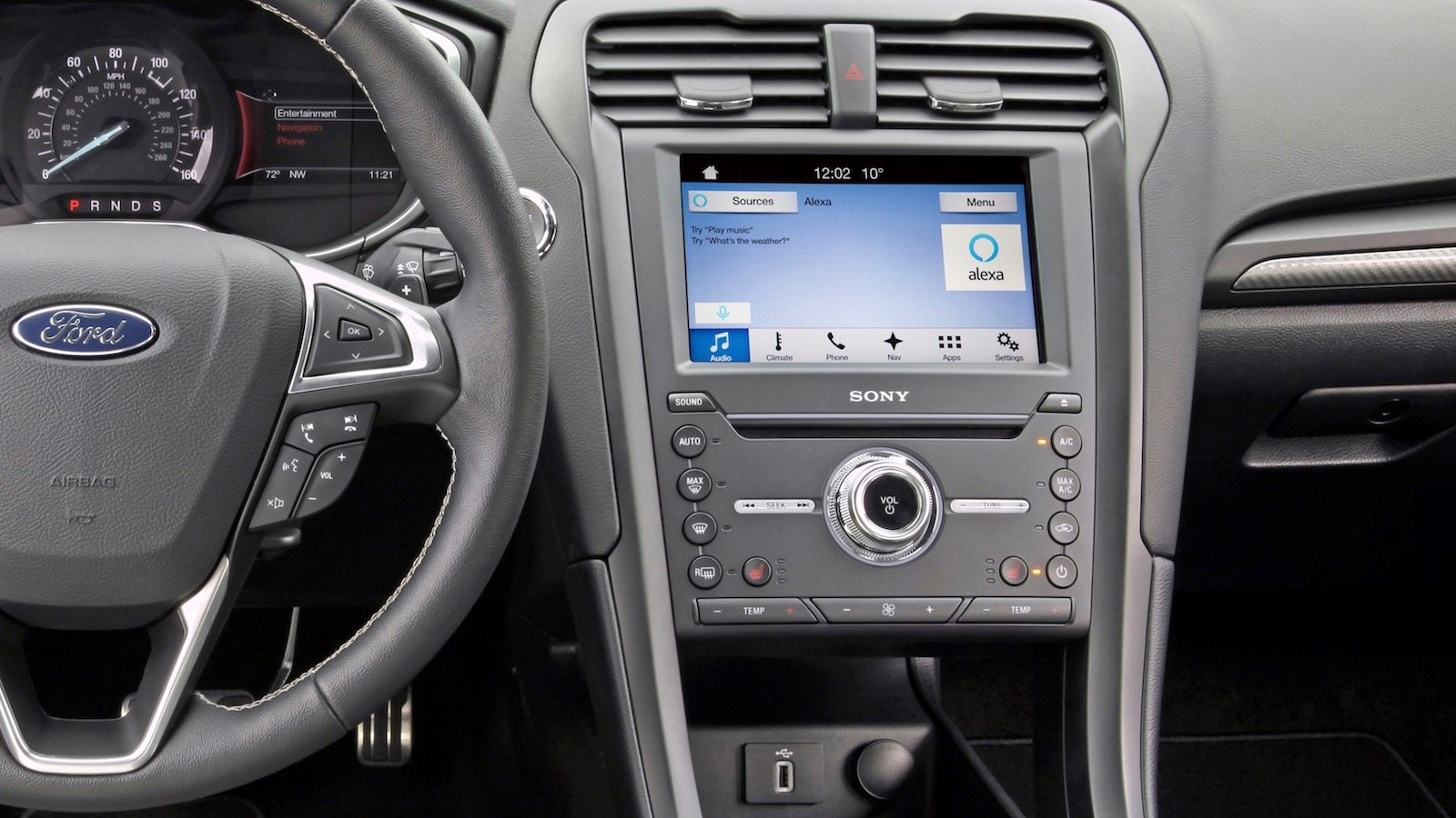 Ford and Amazon team up to offer consumers the ability to access their car from home, and call up other features from their vehicle via Alexa – Amazon's cloud-based voice service