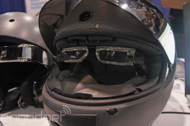 Casque à vision tête haute et réalitée augmentée Fusar Guardian GA-1
