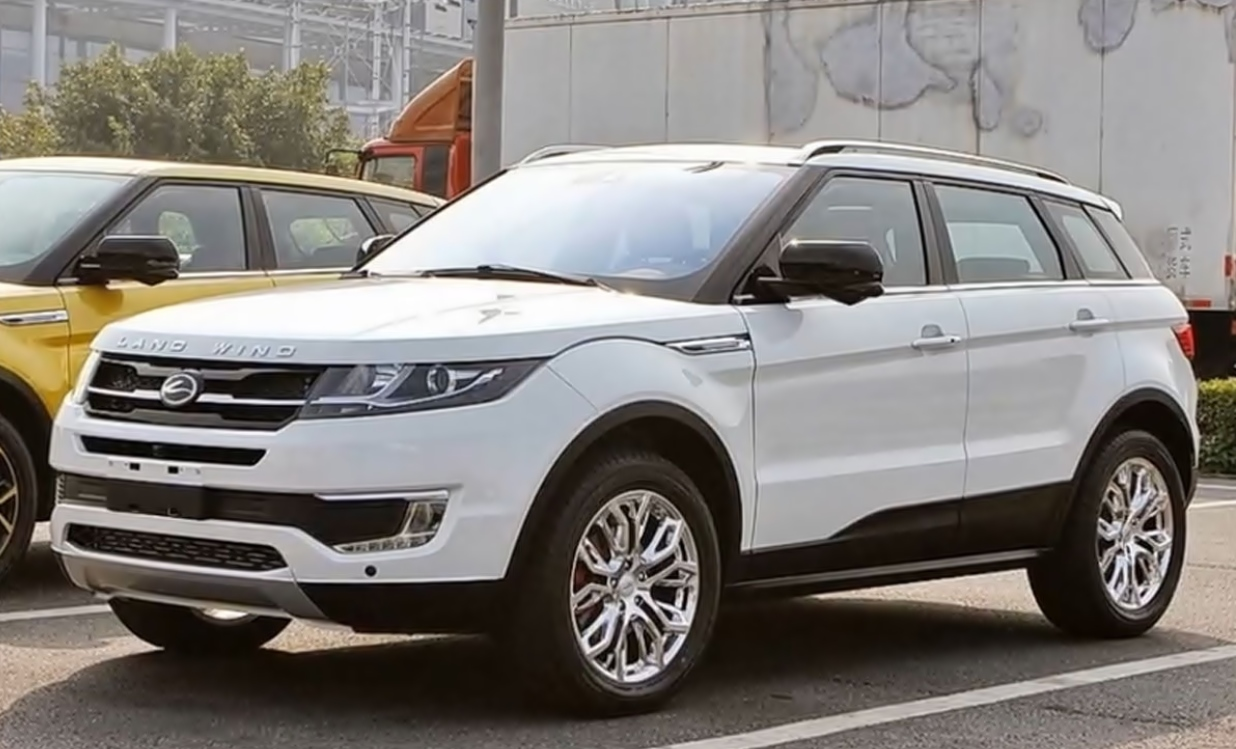 Landwind X7 China Kopie des Range Rover Evoque