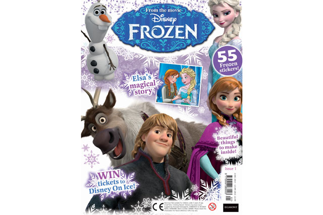 Frozen magazine launched in the UK