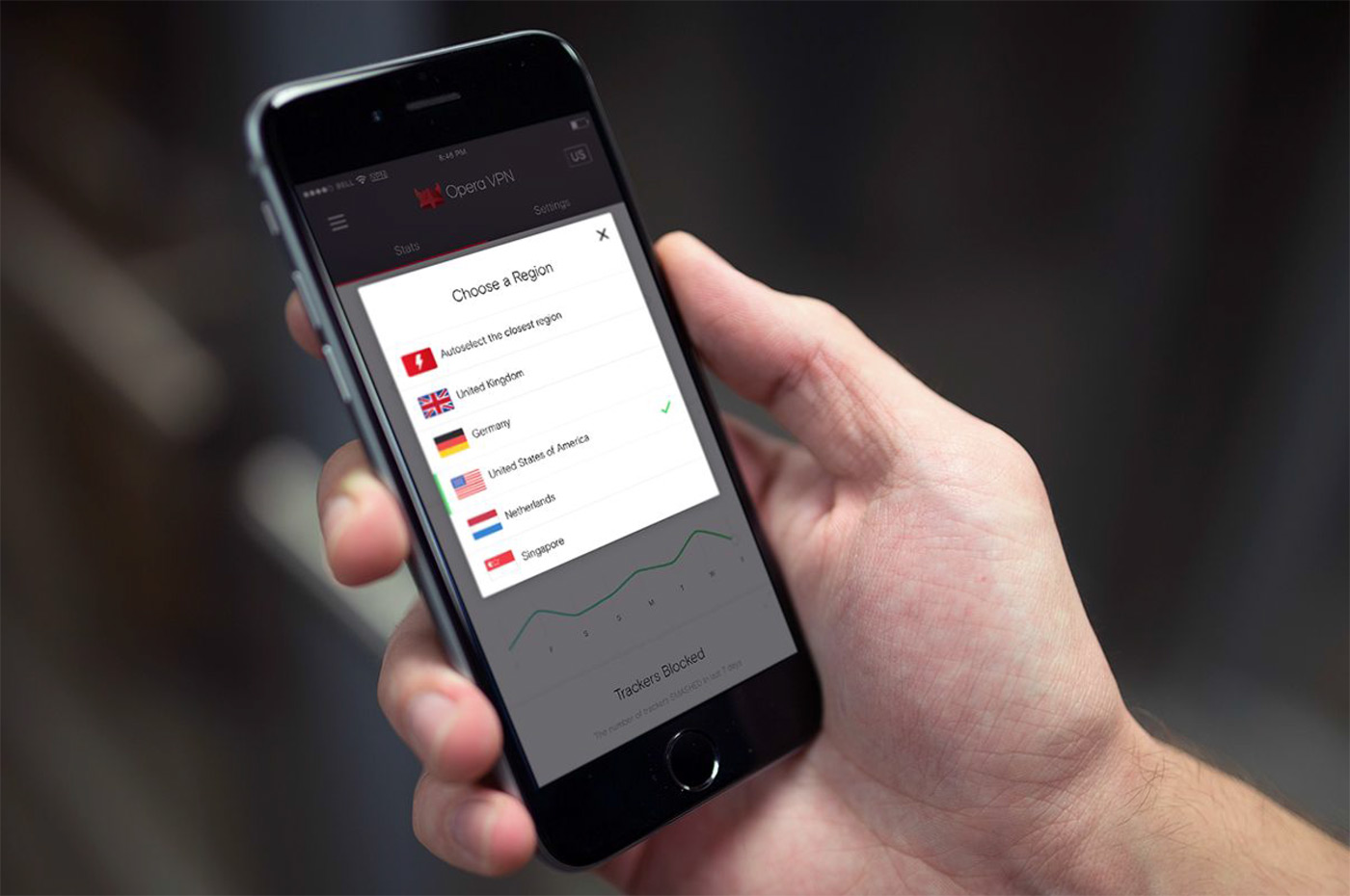 Opera's free VPN for iOS offers more control over your browsing
