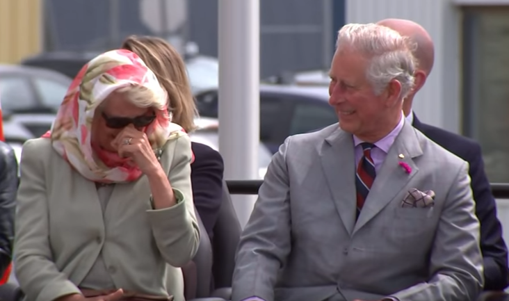 Inuit throat singing tickles Duchess of Cornwall