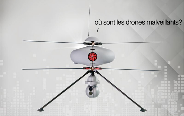 France's anti-drone drone can spot malicious pilots in under a minute