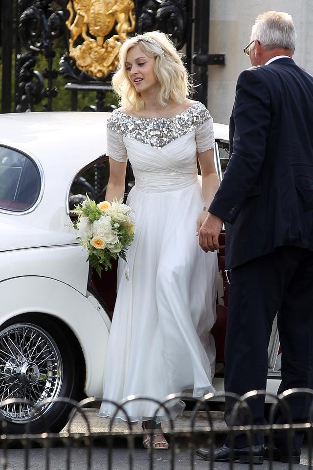 Fearne Cotton marries Jesse Wood in London wedding