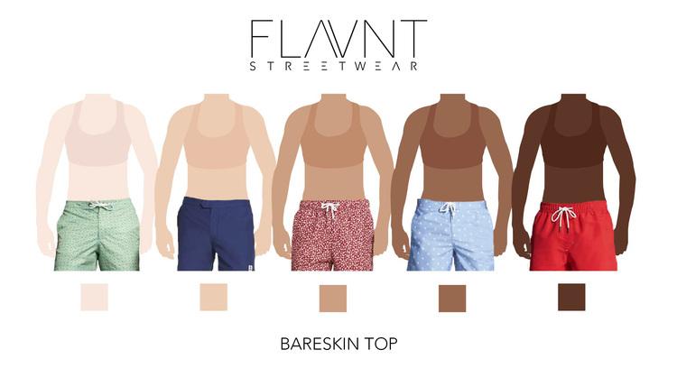 FLAVNT Streetwear Bareskin Top