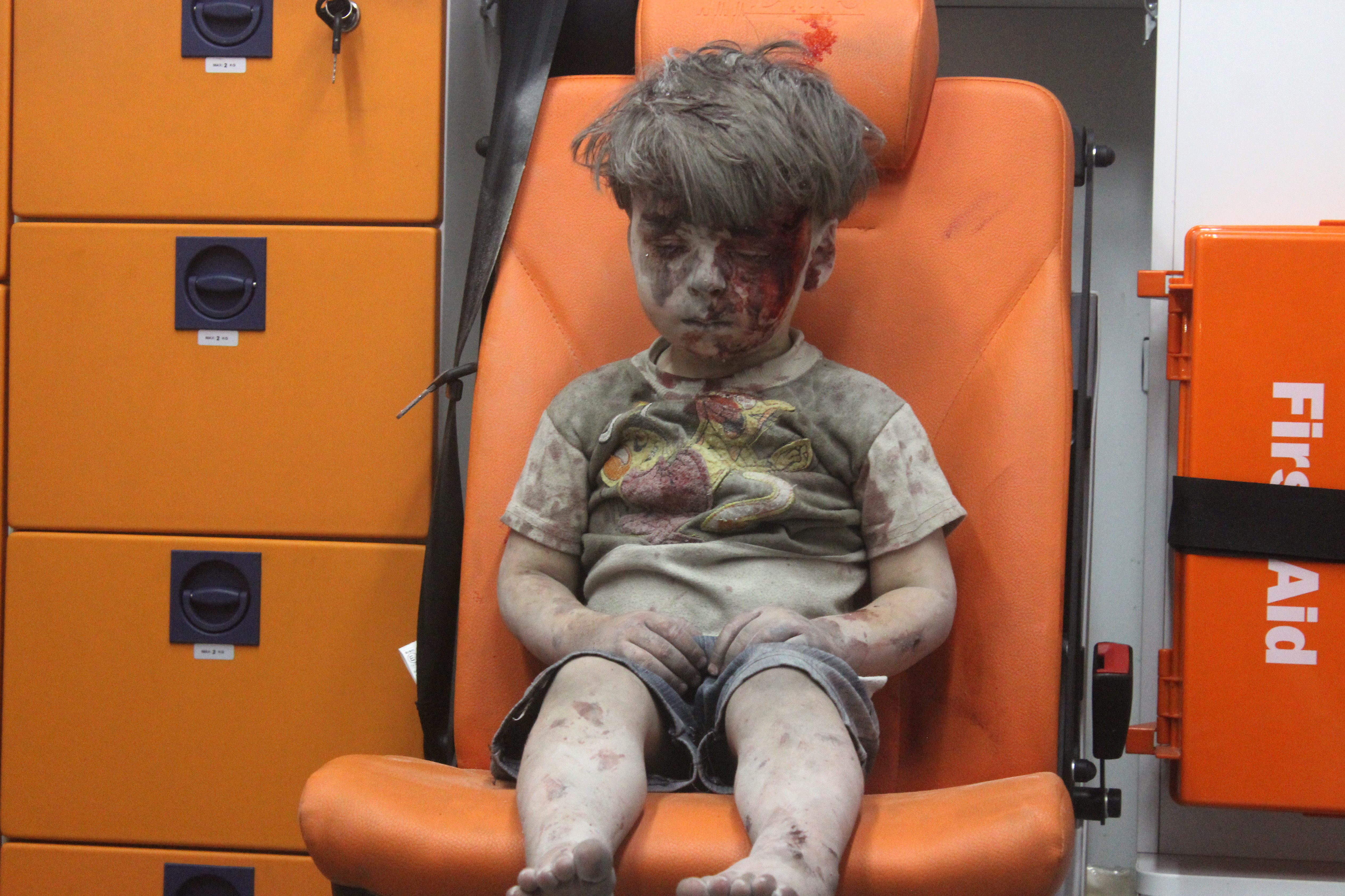 Viral picture of Syrian boy is fake, Assad says