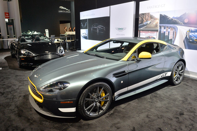 Aston Martin Shows What It Does Best With V8 Vantage Gt
