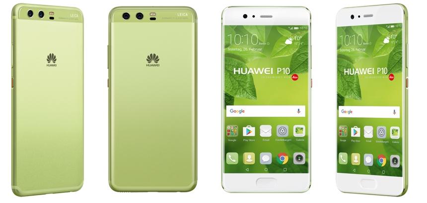 Nicht nur für Kermit: Huawei P10 in grün