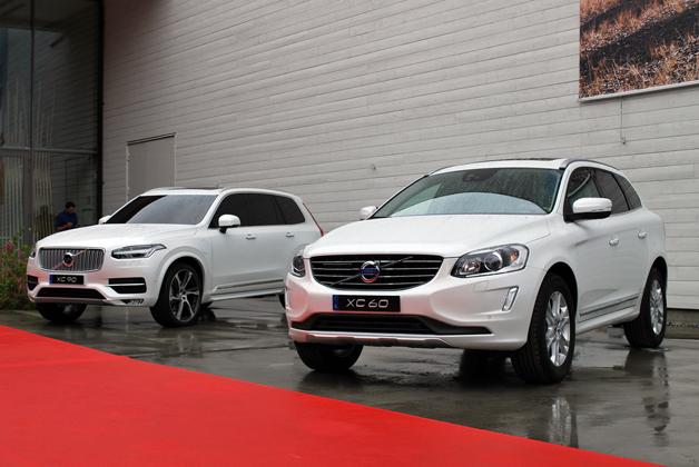 2015 Volvo XC90 and XC60
