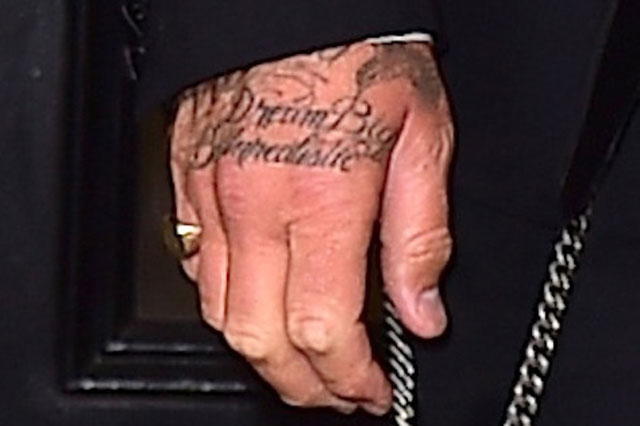 david beckham jay z tattoo