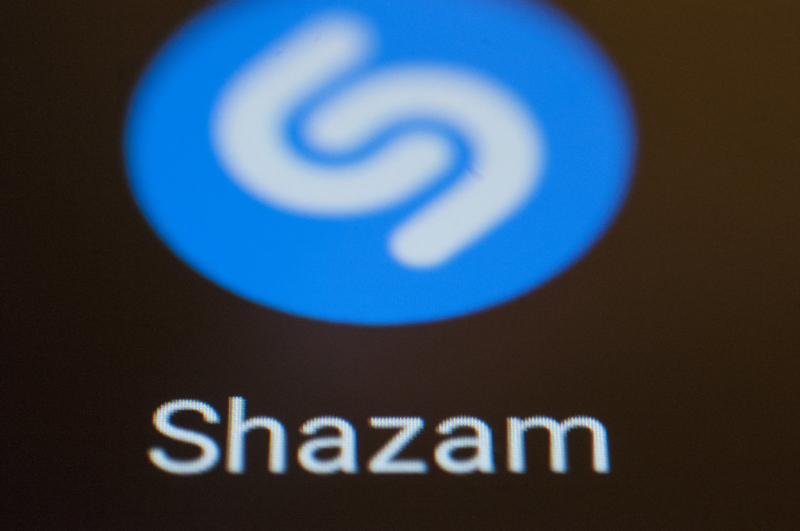 A Shazam music recognition app is seen on an Android portable device on February 5, 2018. (Photo by Jaap Arriens/NurPhoto via Getty Images)