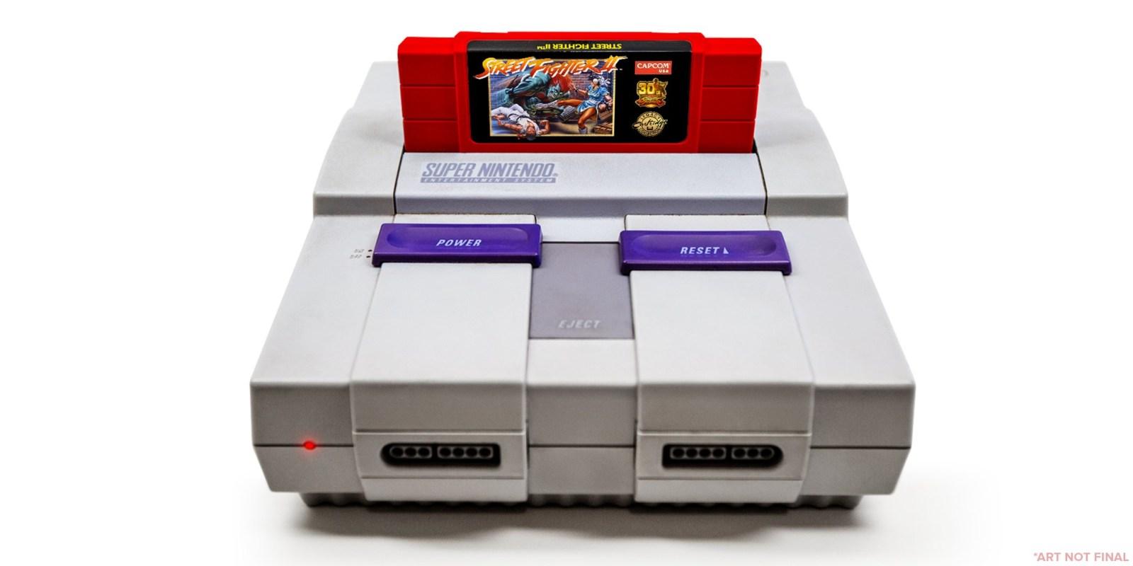Celebra el 30 aniversario de Street Fighter con un cartucho de SNES Súper limitado