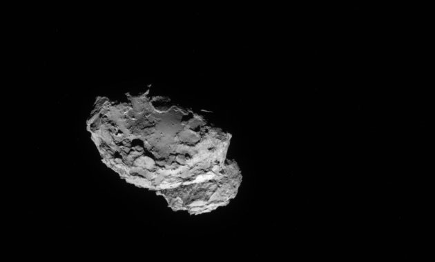 Watch the Rosetta spacecraft rendezvous with a comet starting at 4:00AM ET