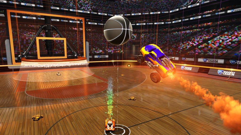 Rocket League tendrá versión de baloncesto