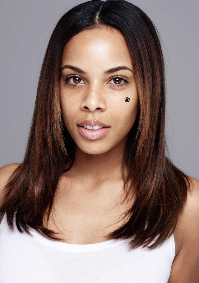 Rochelle Humes makeup free in BearFaced Children in Need campaign