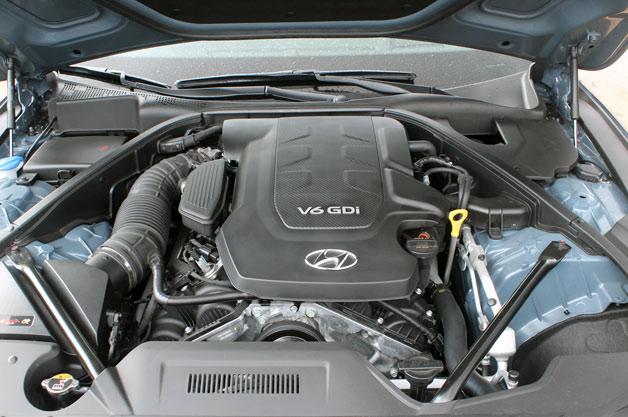 2015 Hyundai Genesis V6 engine