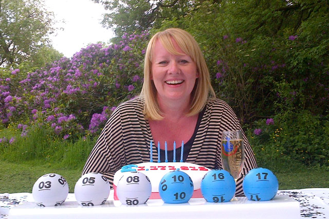 Mum's £1.2 million lottery ticket was stuck on her fridge for three weeks