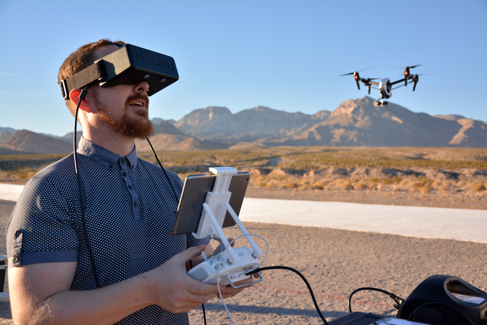 We flew over the Nevada desert with Avegant's 'Jellyfish' video glasses