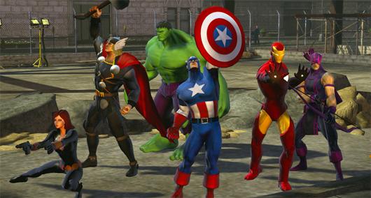 Marvel Heroes' Avengers