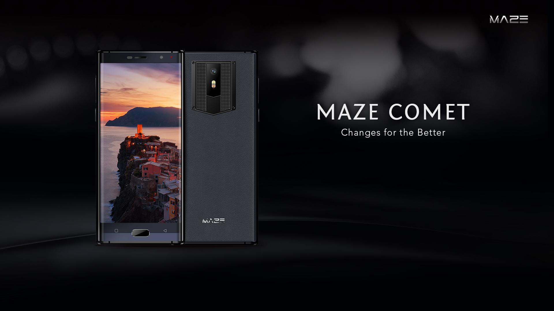 Maze Comet: Leder, Metall und 18:9