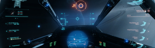Star Citizen pew pew