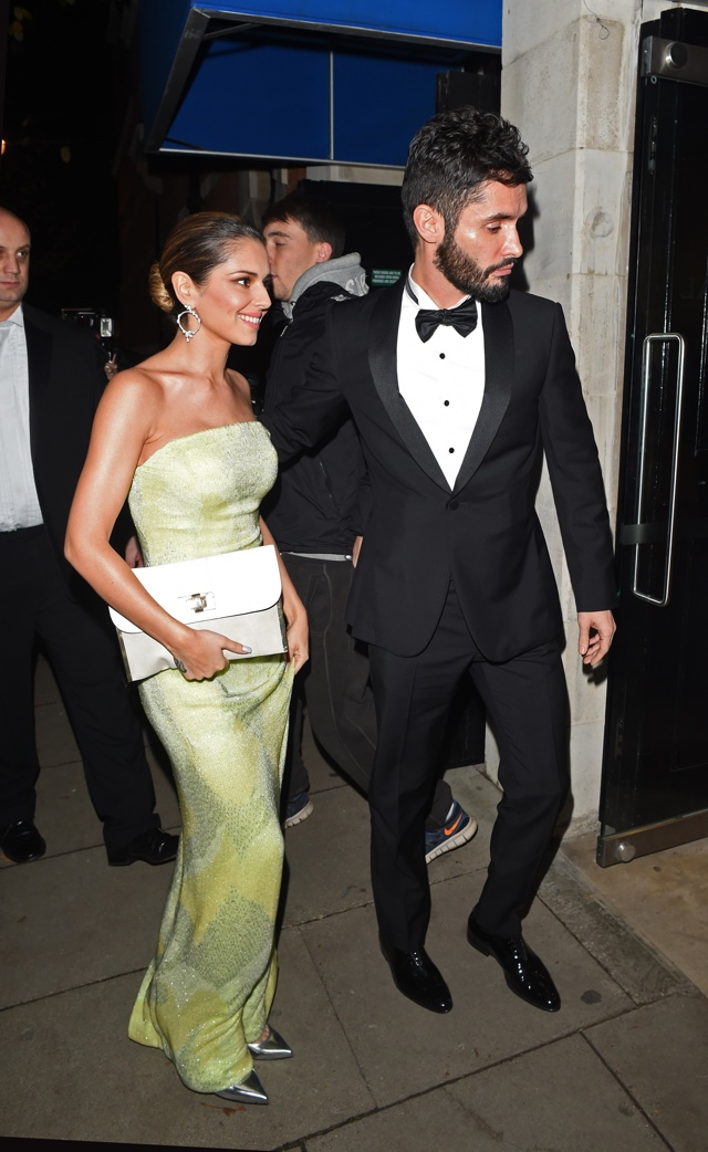 Cheryl Fernandez-Versini steals the style show at Katie Piper Foundation Ball