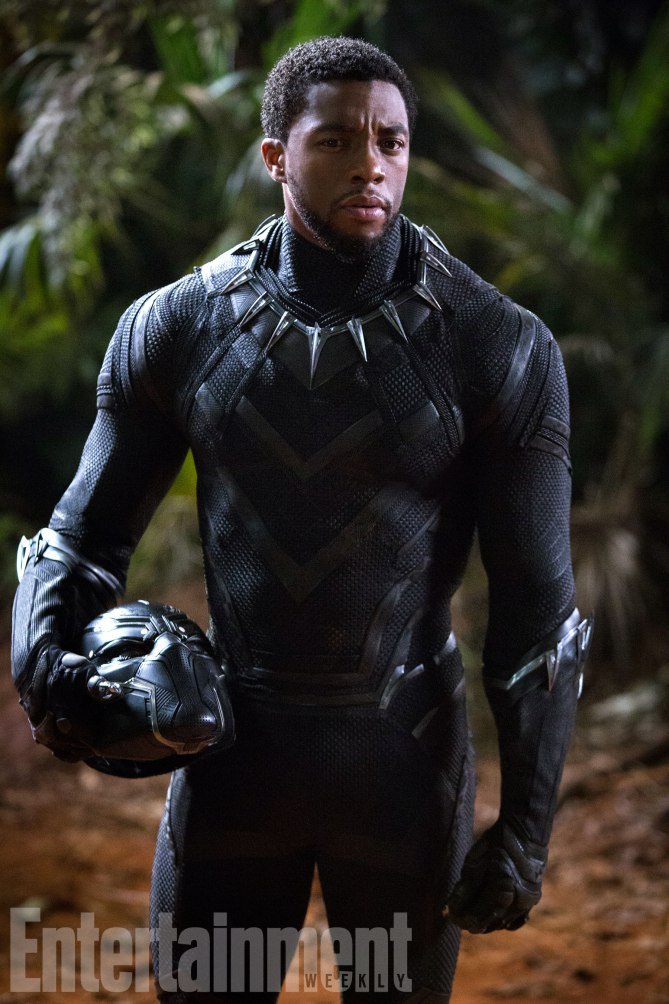 Black Panther<br /> Chadwick Boseman as T'Challa/Black Panther<br /><br /> Credit: Matt Kennedy/©Marvel Studios 2018
