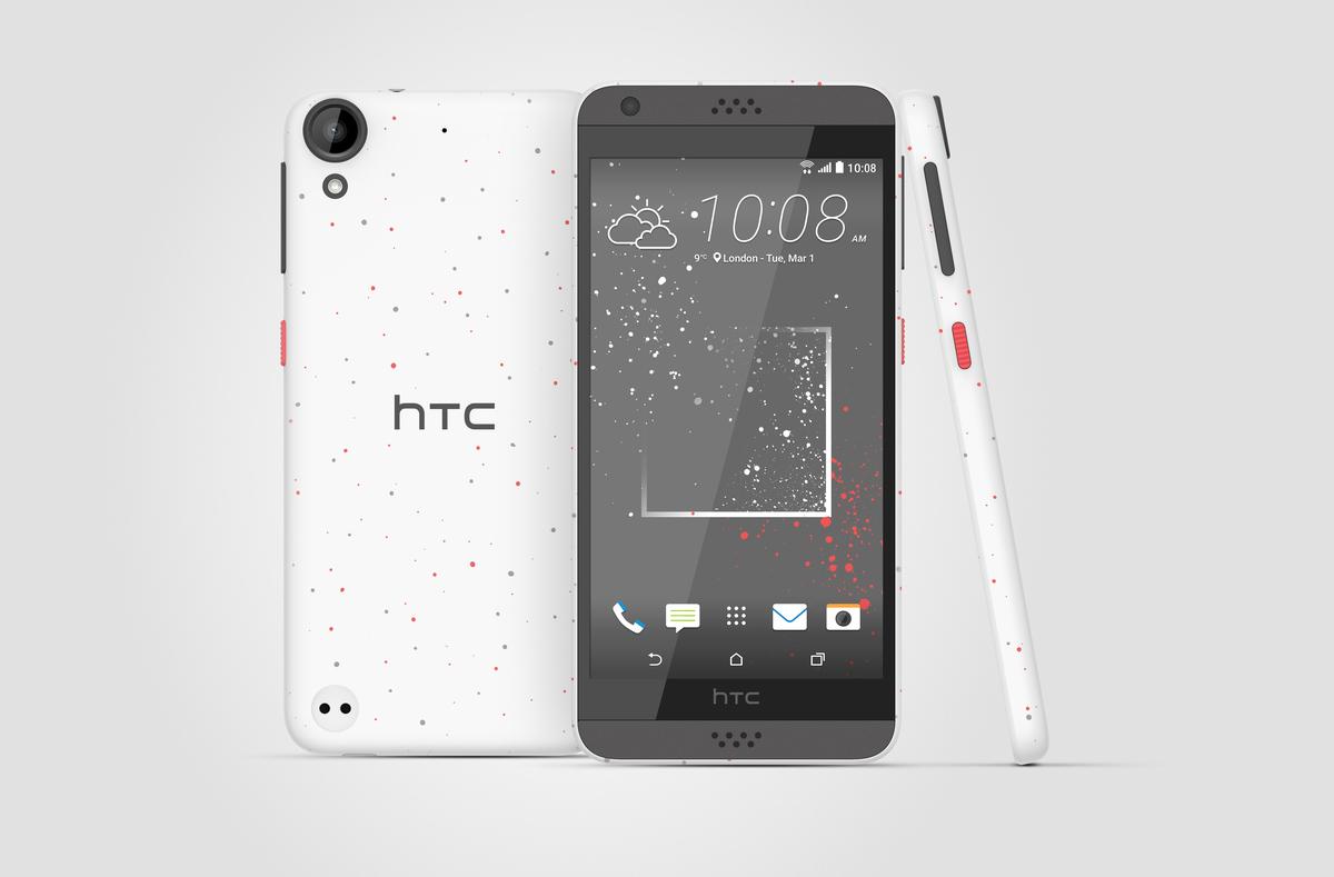HTC presenta unos Desire inpirados en la 'moda callejera'