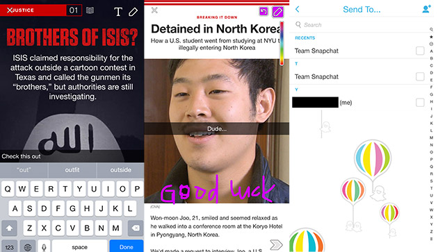 Snapchat adds sharing tools to its news discovery portal
